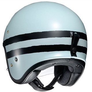 Shoei JO Sequel TC-10 helmet in light blueAlternative Image2