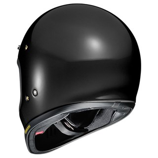 Shoei Ex-Zero helmet in blackAlternative Image1