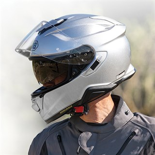 Shoei GT Air 2 Plain helmet in light silverAlternative Image3