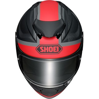 Shoei GT Air 2 Affair TC1 helmet in black / red Alternative Image2