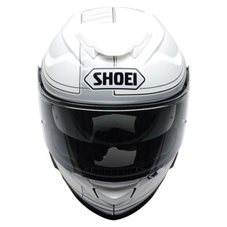 Shoei GT Air 2 Crossbar TC6 helmet in white / black Alternative Image1