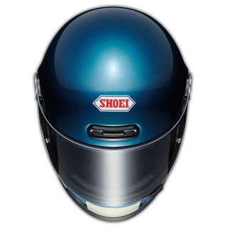 Shoei Glamster Resurrection TC5 helmet in blue & blackAlternative Image2
