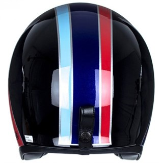Shoei JO Nostalgia TC-10 helmet in black/ blueAlternative Image3