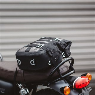 SW-Motech Tail Bag 17.5L in black / brownAlternative Image1