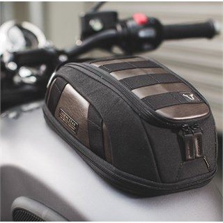 SW Motech Tank Bag LT1 in black / brownAlternative Image1
