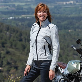 Spidi Ellabike ladies jacket in greyAlternative Image2