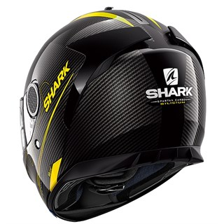 Shark Spartan Carbon Silicium helmet in yellowAlternative Image1
