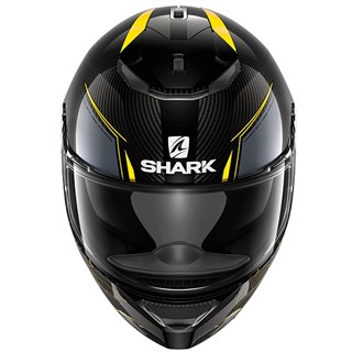 Shark Spartan Carbon Silicium helmet in yellowAlternative Image2
