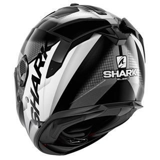 Shark Spartan GT Elgen KAW helmet in black/ whiteAlternative Image1