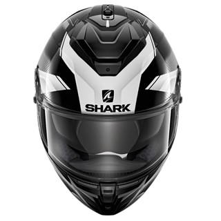Shark Spartan GT Elgen KAW helmet in black/ whiteAlternative Image2