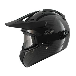 Shark Explore-R Carbon Skin helmet in blackAlternative Image1