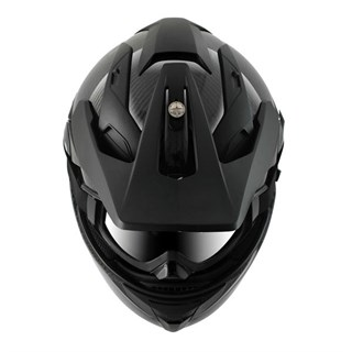 Shark Explore-R Carbon Skin helmet in blackAlternative Image2
