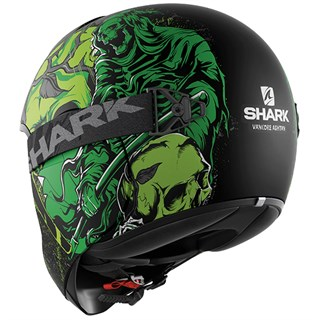 Shark Vancore Ashtan helmet in matt black / greenAlternative Image1