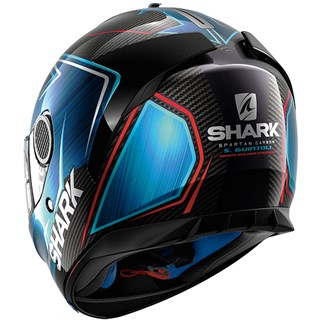 Shark Spartan Carbon Guintoli helmet in black / blueAlternative Image1