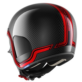 Shark S-Drak Vinta helmet in black / redAlternative Image1