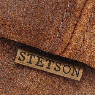 Stetson Hatteras Pig Leather Cap in tanAlternative Image3