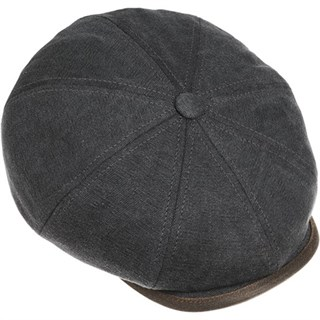 Stetson Hatteras Canvas Flat CapAlternative Image1