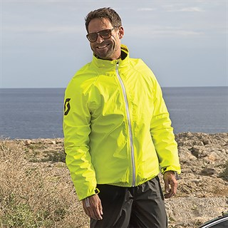 Scott Ergo Pro DP Waterproof jacket in hi-visAlternative Image2