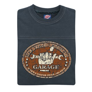 Retro Legends The Busted Knuckle Garage T-Sweat BlueAlternative Image1