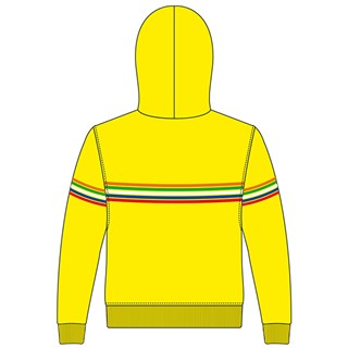 Rossi 2018 The Doctor kids hoodie in yellowAlternative Image1