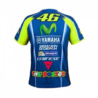 Rossi 2018 Yamaha Sponsor T-shirt Alternative Image1