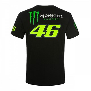 Valentino Rossi VR46 2019 Monster T-shirt in blackAlternative Image1