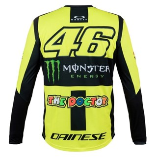 Valentino Rossi VR46 2019 Monster long sleeve T-shirt in yellowAlternative Image1