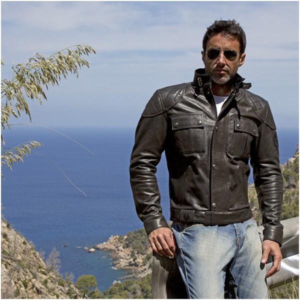 Alojamiento Enumerar Preconcepción  Belstaff Mojave leather jacket in antique black