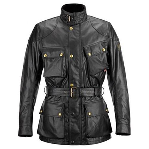 3c5b8db72f Belstaff Trialmaster wax cotton jacket in black (BEL092)