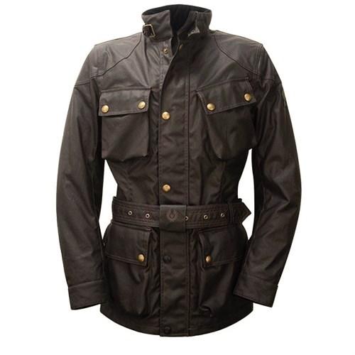 4c1dcc8af9d Belstaff Trialmaster wax cotton jacket in mahogany (BEL093)