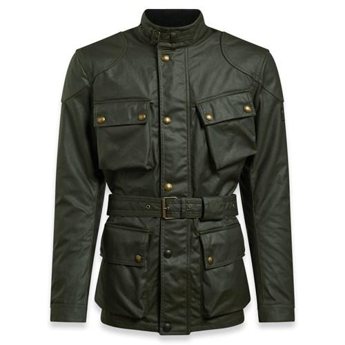 93de914fa0 Belstaff Trialmaster Pro wax cotton jacket in olive green (BEL1071)