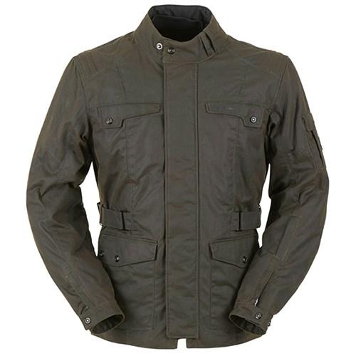 Furygan Thruxton Wax Cotton Jacket in brown