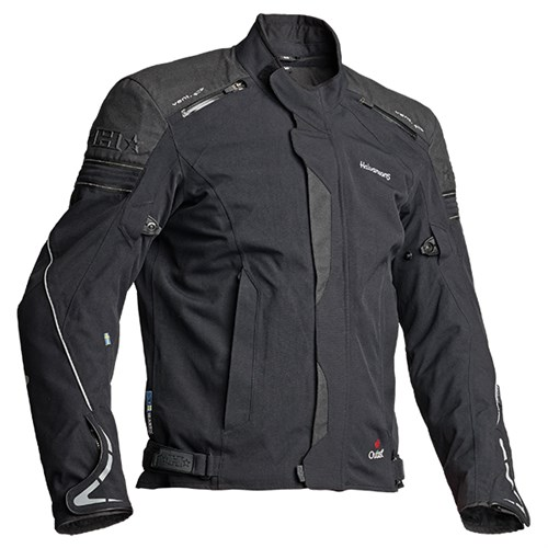 Halvarssons Walkyr laminated motorcycle jacket