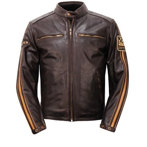 Helstons Ace jacket in brown