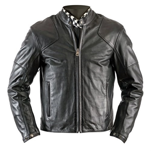 Helstons Heat Perforated leather motorcycle jacket