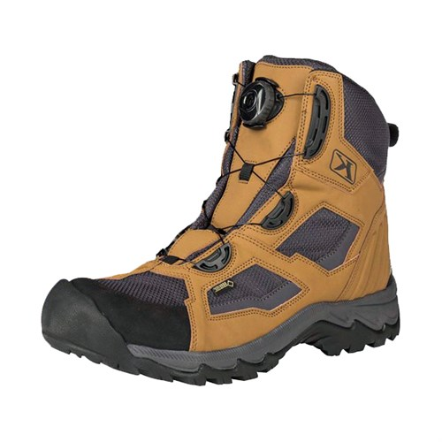 Klim Outlander GTX boots in brown
