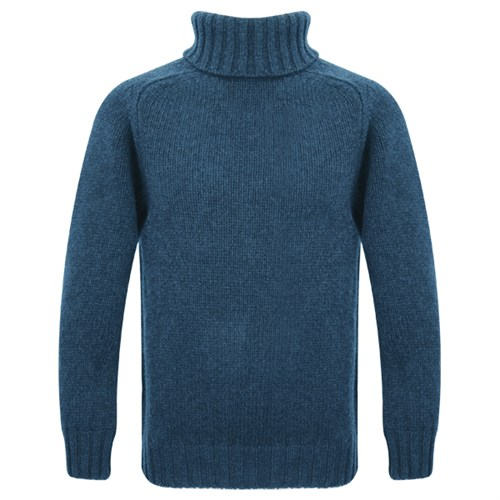 Motolegends woollen roll neck