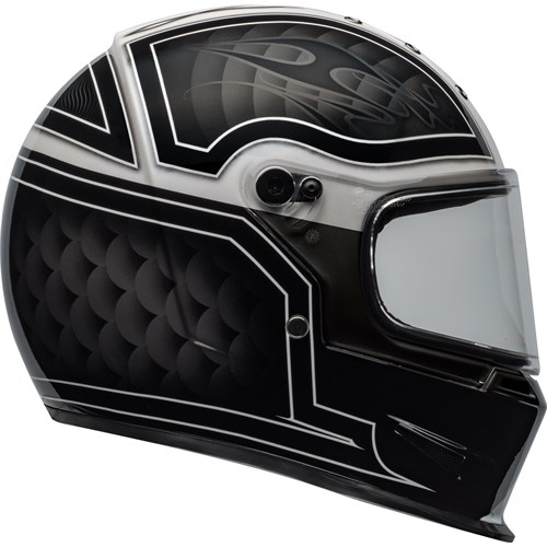 Bell Eliminator Outlaw black/white helmet
