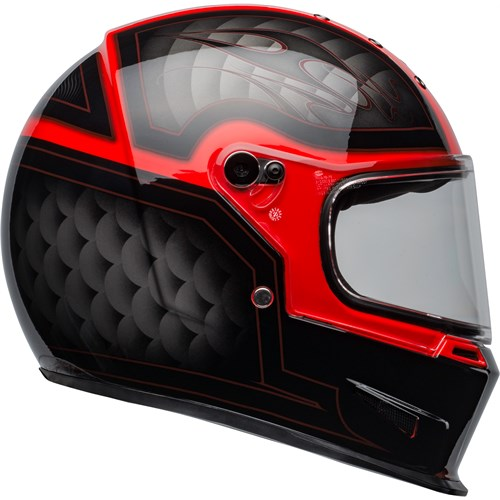 Bell Eliminator Outlaw black/red helmet