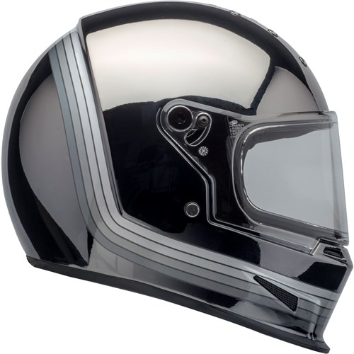 Bell Eliminator Matt black/chrome helmet