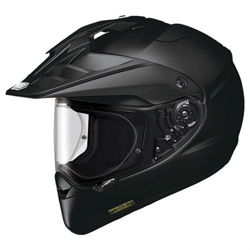 Shoei Hornet ADV helmet in gloss black