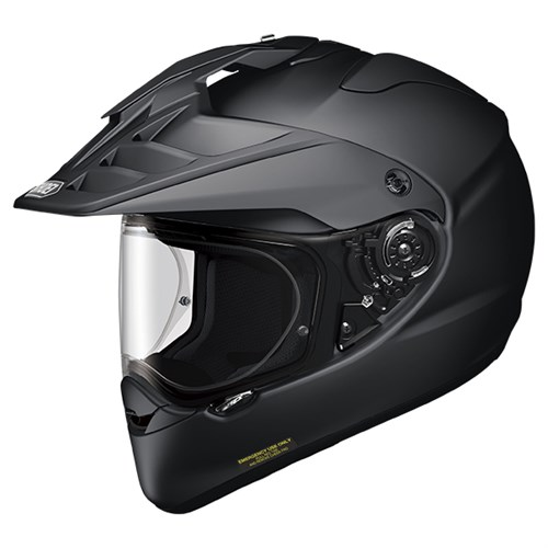 Shoei Hornet ADV helmet in matt black HMT XL