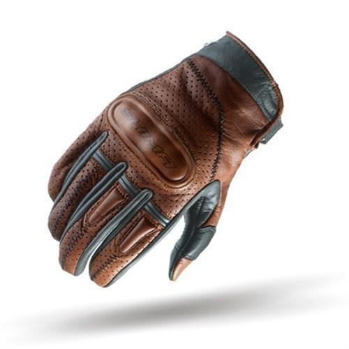 shima caliber gloves in brown