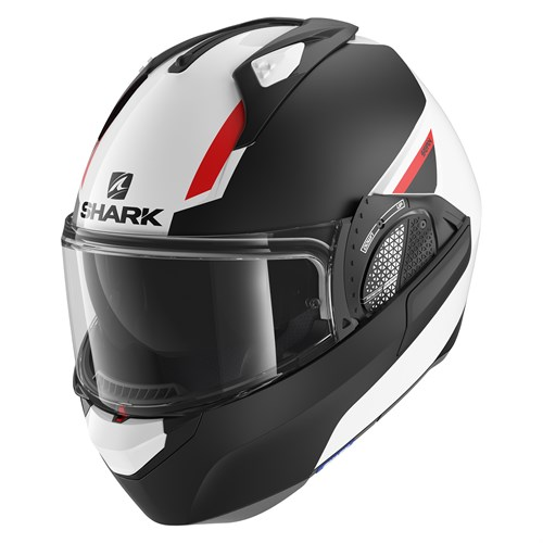 SHARK EVO-ONE 2 helmet Lithion Dual black/red
