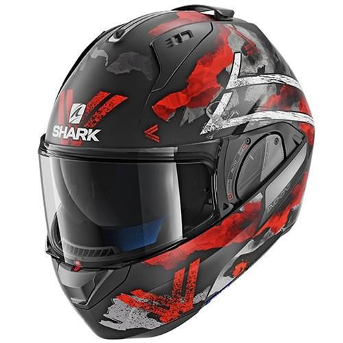 SHARK EVO-ONE 2 helmet Skuld red