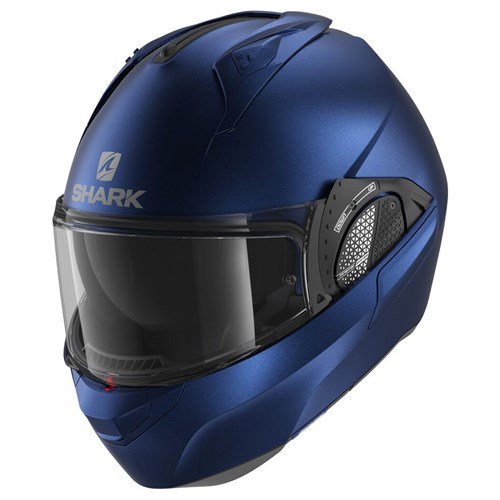 Shark Evo GT helmet in matt blue