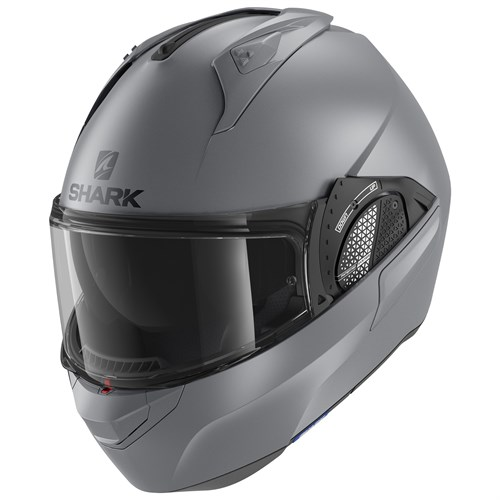 Shark Evo GT helmet in matt grey