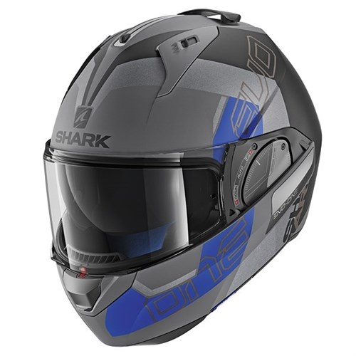 SHARK EVO-ONE 2 helmet Slasher grey/blue