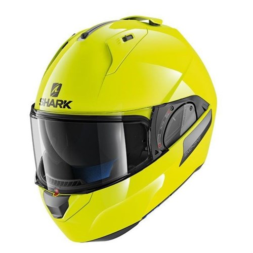 SHARK EVO-ONE 2 helmet blank hi-vis yellow