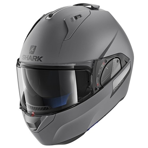 SHARK EVO-ONE 2 helmet blank matt grey